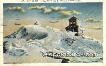 Ranger's Cabin - Mt Hood, Oregon OR Postcard