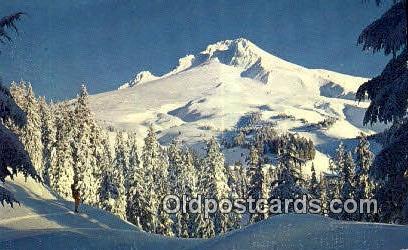 Cascade Mountains - Mt Hood, Oregon OR Postcard
