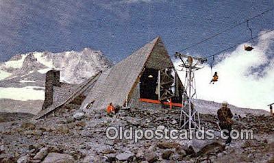 Sillcox Hut - Mt Hood, Oregon OR Postcard