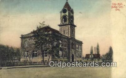 City Hall - Baker City, Oregon OR Postcard