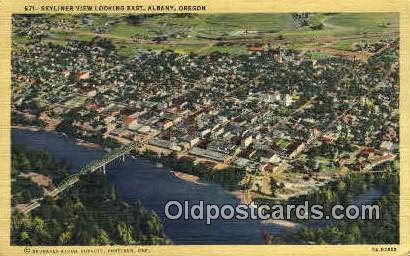 Albany, OR  ;      :      Albany, Oregon Postcard