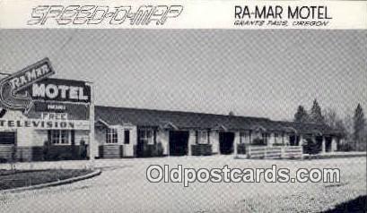 Ra Mar Motel - Grants Pass, Oregon OR Postcard