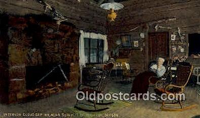 Cloud Cap Inn - Mt Hood, Oregon OR Postcard