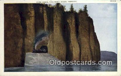 Cape Horn - Columbia River, Oregon OR Postcard