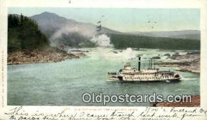 Cascades - Columbia River, Oregon OR Postcard