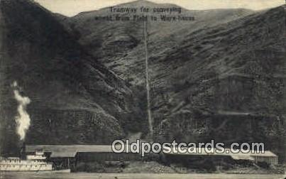 Tramway - Misc, Oregon OR Postcard