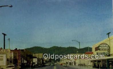 Business District - Grants Pass, Oregon OR Postcard