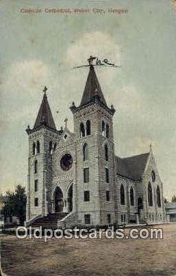 Catholic Cathedral - Baker City, Oregon OR Postcard