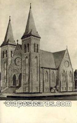 Catholic Church - Baker City, Oregon OR Postcard