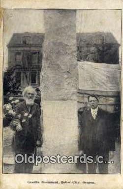 Granite Monument - Baker City, Oregon OR Postcard