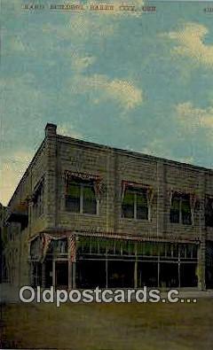 Rand Bldg - Baker City, Oregon OR Postcard