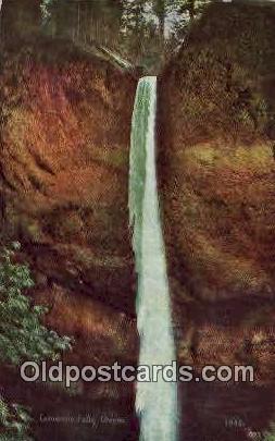 Latourelle Falls, Oregon ;      :             Latourelle Falls, OR Postcard