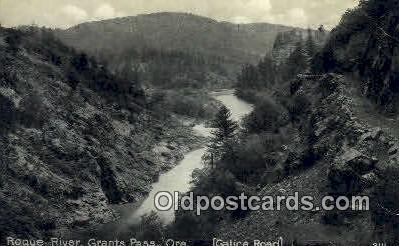 Rogue River - Grants Pass, Oregon OR Postcard