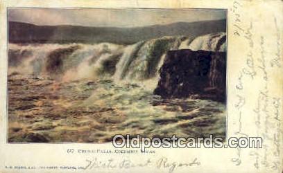 Celilo Falls - Columbia River, Oregon OR Postcard