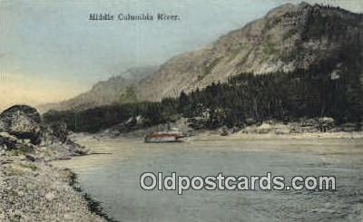 Columbia River, OR  ;      :      Columbia River, Oregon Postcard