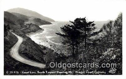 Real Photo - Humbug Mt - Oregon Coast Highway Postcards, Oregon OR Postcard