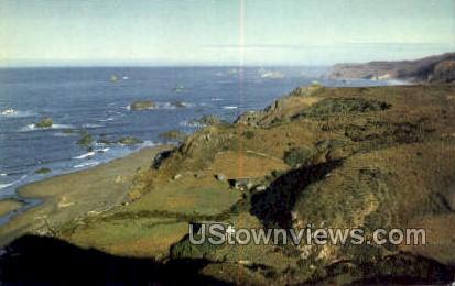 Brookings, OR, Oregon Postcard