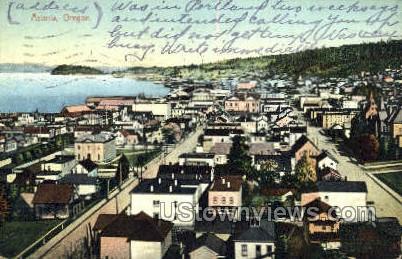 Astoria, OR, Oregon Postcard
