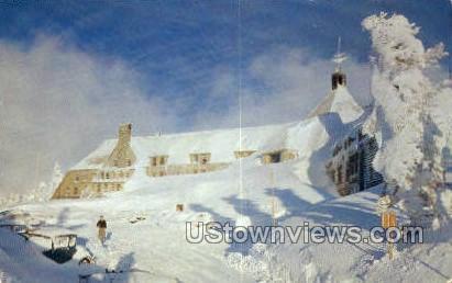 Timberline Lodge - Mt Hood, Oregon OR Postcard