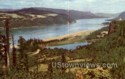 Columbia River, OR, Oregon Postcard