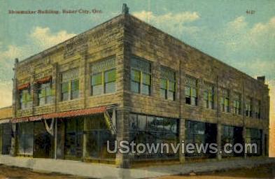 Shoemaker - Baker City, Oregon OR Postcard