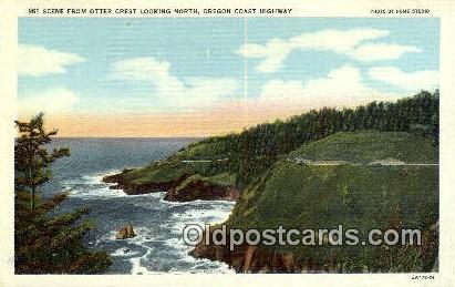 Otter Crest - Oregon Coast Highway Postcards, Oregon OR Postcard