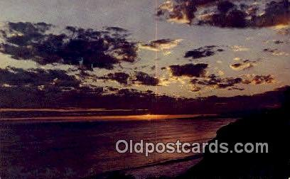 Pacific Sunset - Misc, Oregon OR Postcard