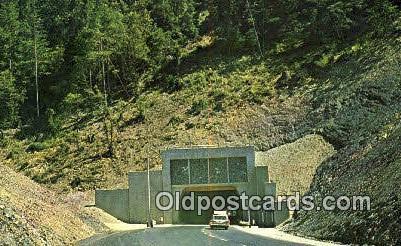 Randolph Collier Tunnel - Grants Pass, Oregon OR Postcard