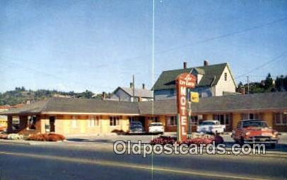Lee City Center Motel - Astoria, Oregon OR Postcard