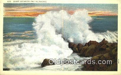 Giant Breakers - Misc, Oregon OR Postcard