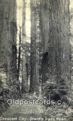 Crescent City - Grants Pass, Oregon OR Postcard