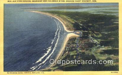 Seaside - Columbia River, Oregon OR Postcard