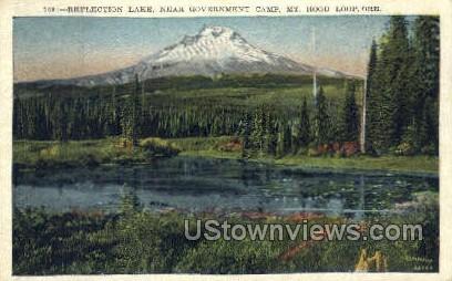 Near Government Camp - Mt Hood, Oregon OR Postcard