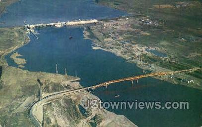 Umatilla Bridge - Columbia River, Oregon OR Postcard