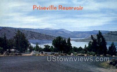 Prineville Reservoir - Misc, Oregon OR Postcard