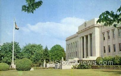 Linn County Court House - Albany, Oregon OR Postcard