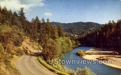 Highway in Oregon Cascades - Misc Postcard