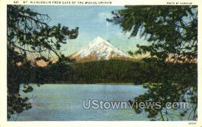 Mt McLaughlin - Misc, Oregon OR Postcard