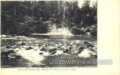 Savage Rapids - Grants Pass, Oregon OR Postcard