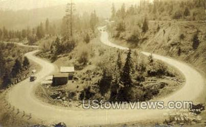 Real Photo - Horse Shoe Curve - Misc, Oregon OR Postcard