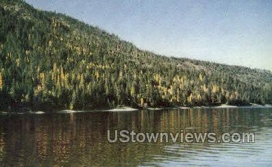 Lake Wallowa - Joseph, Oregon OR Postcard