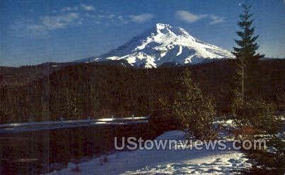 Mt Hood - Oregon OR Postcard