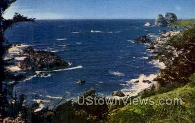 Shores of the Pacific - Misc, Oregon OR Postcard