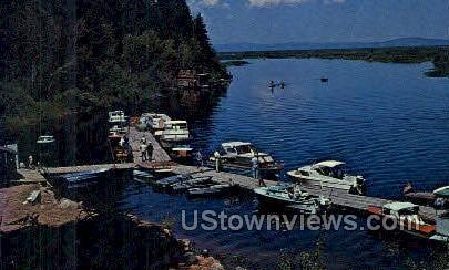 Rocky Point Resort - Klamath Lake, Oregon OR Postcard