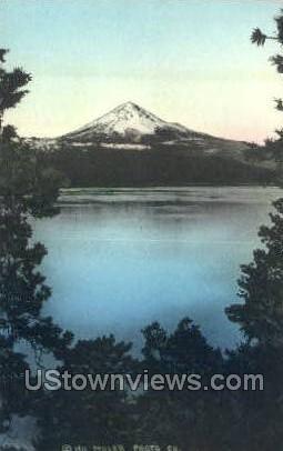 Mt Pitt - Klamath Lake, Oregon OR Postcard