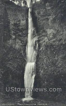 Multnomah Falls - Columbia River, Oregon OR Postcard