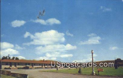 Lariat Motel - Baker, Oregon OR Postcard