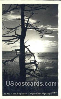 Coos Bay - Oregon Coast Highway Postcards, Oregon OR Postcard