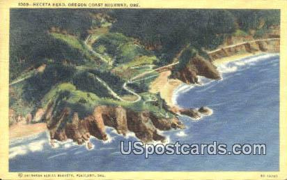 Heceta Head - Oregon Coast Highway Postcards, Oregon OR Postcard