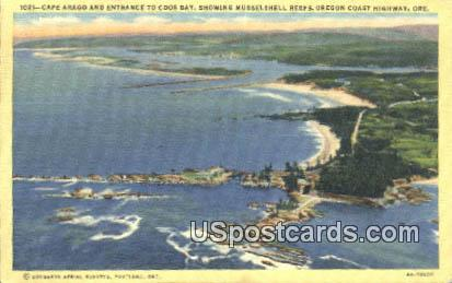Cape Arago - Oregon Coast Highway Postcards, Oregon OR Postcard